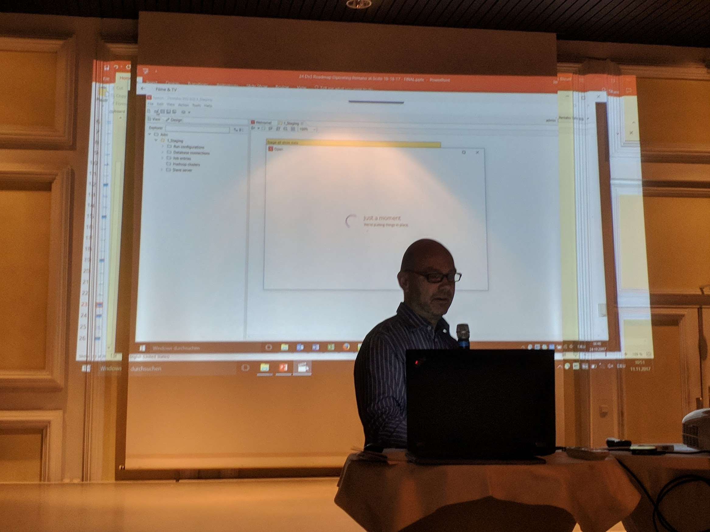 Jens Bleuel explaining worker nodes and  other new features in PDI 8.0