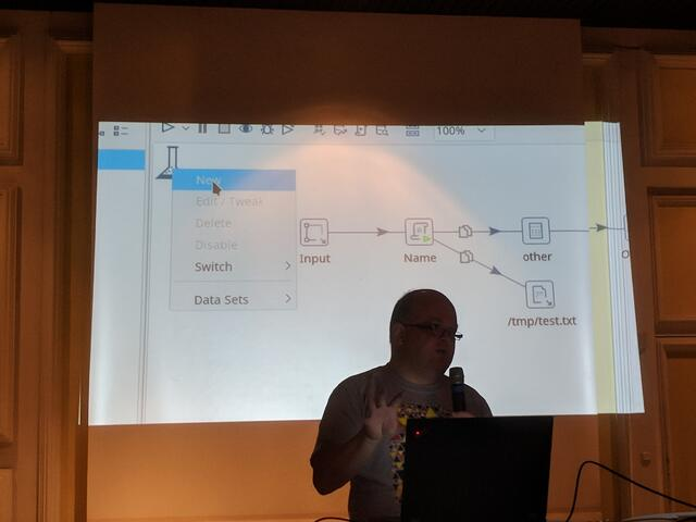 Matt Casters talking about what's cooking at Pentaho Labs