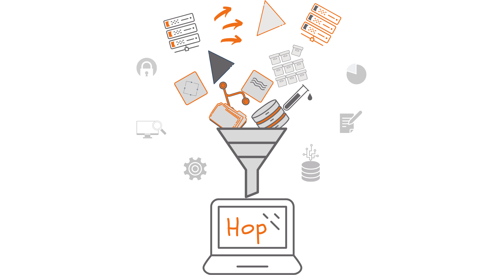 metadata driven gray and orange funnel (2)